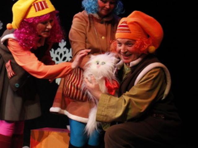 Сказка про кошку Мусю и мышонка Тусю